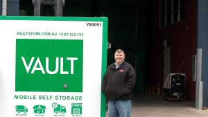 RJKM Product Management of Vault branded Storacube Container